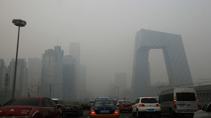 Beijing Raises Pollution Alert To Orange For First Time As