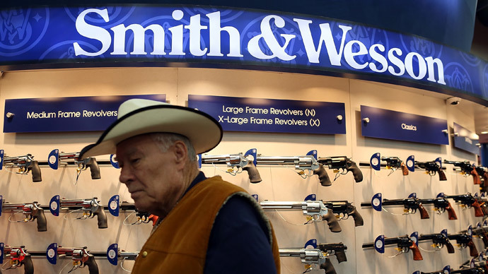 Gun production in US sets new record with 30 percent increase