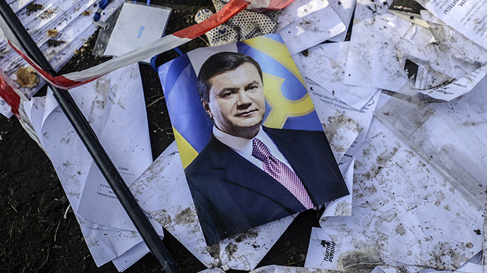 Yanukovich wanted over mass killings in Ukraine, whereabouts unknown