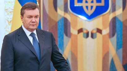 'I'm not leaving': Yanukovich accuses opposition of coup d'etat, calls on EU to fulfill obligations