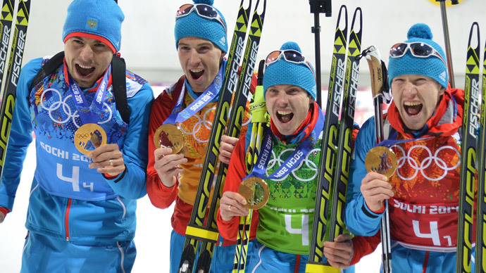 Sochi medal wrap-up, Day 15: Olympic host Russia tops medals table