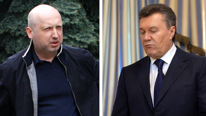 Yanukovich denies ouster, says 'ashamed & guilty' for not preventing chaos
