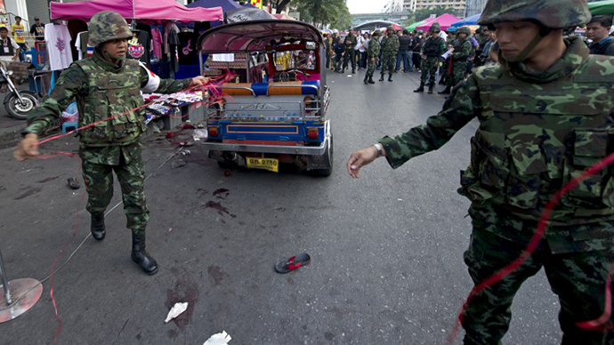 Blast in central Bangkok kills 3, injures 20+ as anti-govt protests gain momentum