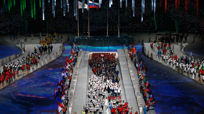 Sochi closing ceremony pokes fun at Olympic ring malfunction (PHOTOS)