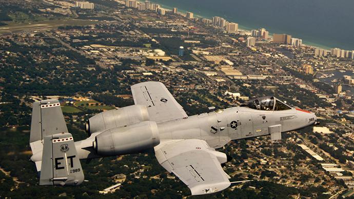 An A-10C Thunderbolt II (Reuters / Joely Santiago)