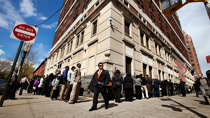Down & out: US unemployed without extended benefits nearing 2mn