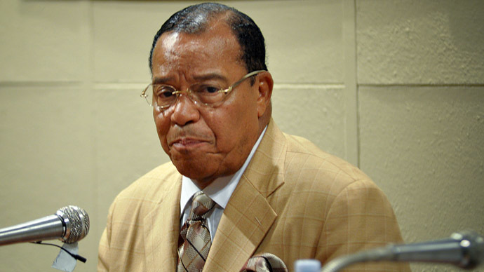 Nation of Islam's Farrakhan demands separate courts for African Americans