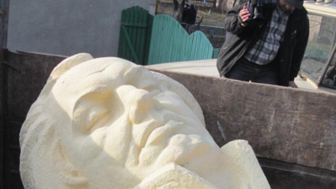 Ukrainian city demolishes monument to Russian general who beat Napoleon