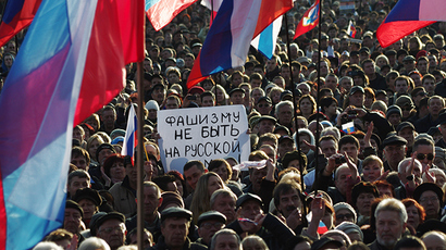 Crimea parliament announces referendum on Ukrainian region's future