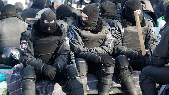 No more Berkut: Ukraine interim govt disbands special security force