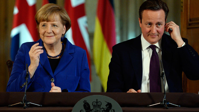 'I can fix EU problem': Cameron in Merkel reform talks