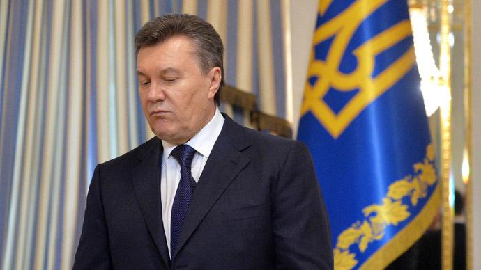 Swiss freeze Yanukovich assets