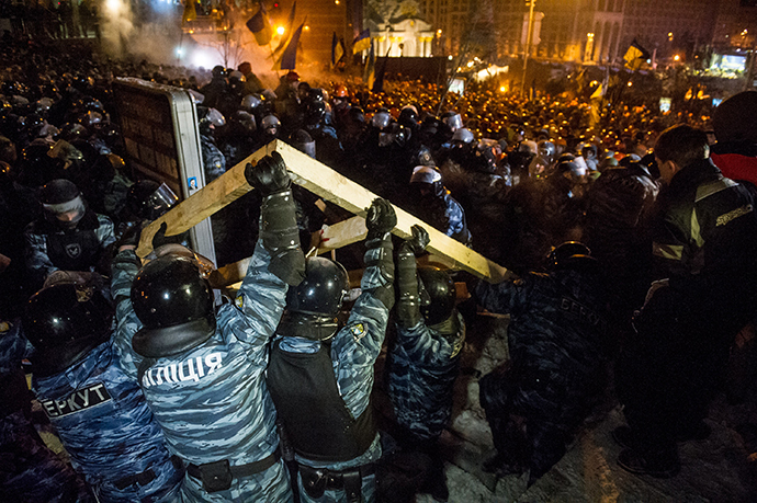 Kiev, December 11,2013 (AFP Photo / Volodymyr Shuvayev)