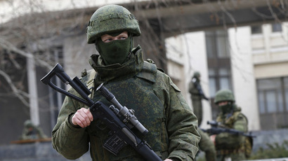 Putin: Russian citizens, troops threatened in Ukraine, need armed forces' protection