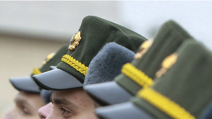 Five top military, security commanders take oath to Crimea