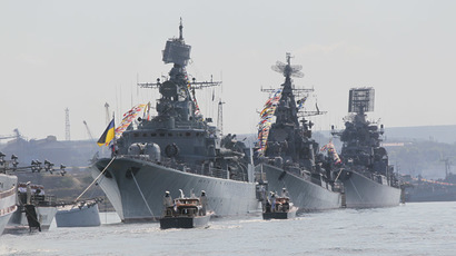 Crimea forms its own fleet as Ukraine Navy chief sides with region