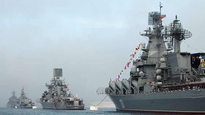 US warship in Black Sea as Ukraine's Crimea readies for referendum