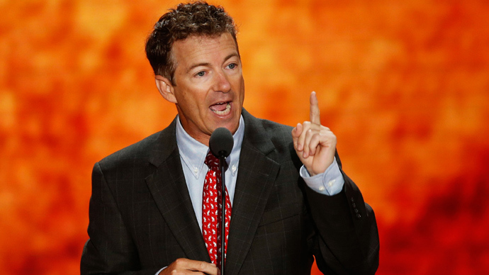 Rand Paul wants to run for US president and senator at the same time