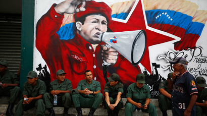 Venezuela marks Chavez death anniversary amid anti-govt protests