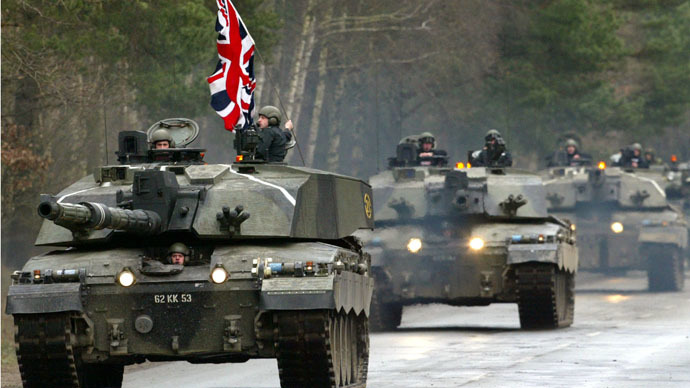 Military cutbacks may leave UK dangerously exposed