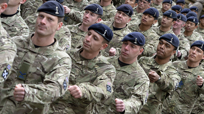 Underpaid & under fire: British frontline troops earn less than minimum wage