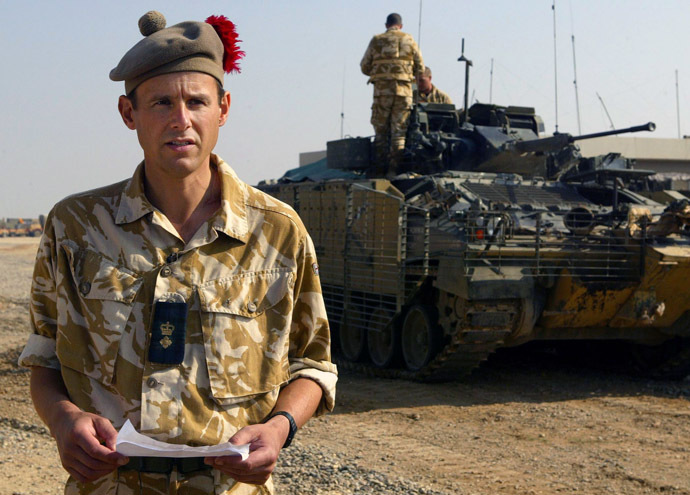 James Cowan in Iraq in 2004 (Reuters/Maurice McDonald)