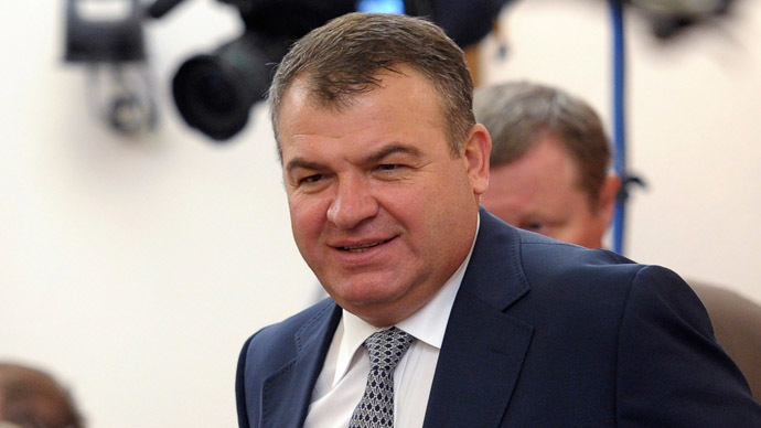 Former Defense Minister Serdyukov given amnesty in power abuse case