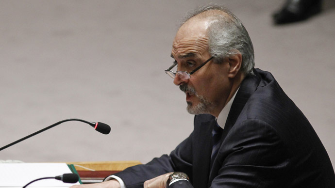 Syrian ambassador to UN restricted to 25-mile radius of New York City