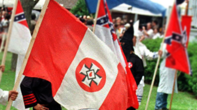 Two Florida cops off the job for KKK connections