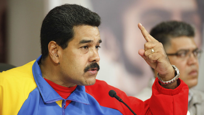 Venezuela accuses Kerry of murder and inciting violence
