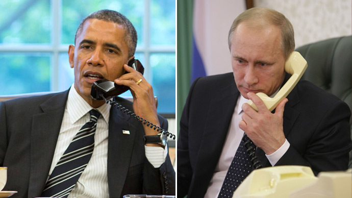 Putin to Obama: Russian-American relations shouldn't be sacrificed for differences over intl problems