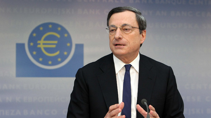 Euro is 'island of stability' - Draghi