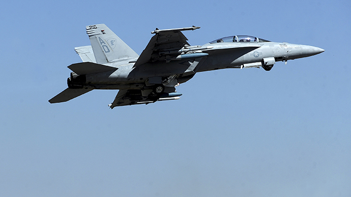 Navy puts electronic attack jets on 'unfunded' list