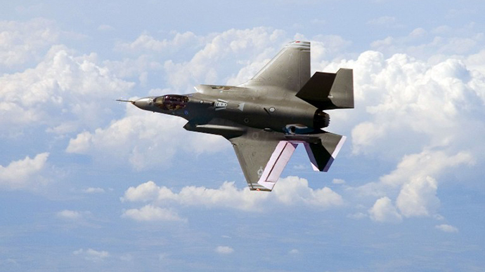 The F-35 JSF (AFP Photo)