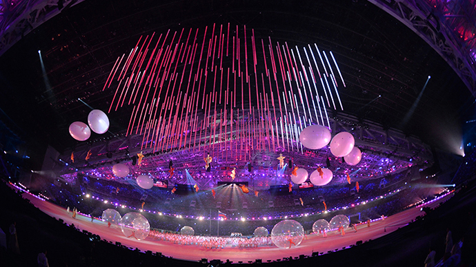 Breaking the Ice, breaking down barriers: XI Paralympics open in Sochi (PHOTOS)