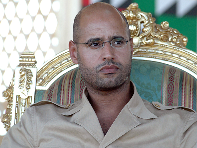Saif al-Islam Gadaffi (AFP Photo / Mahmud Turkia)
