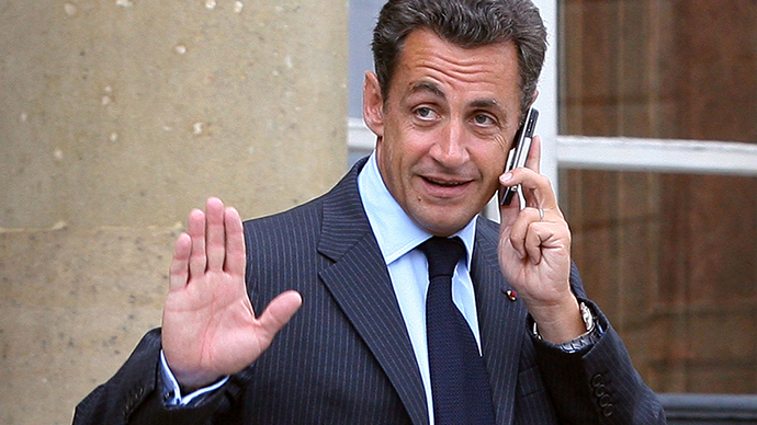 Sarkozy's phone 'tapped' over Libya cash claims