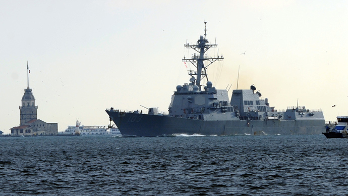 Second US Navy destroyer heads to Black Sea
