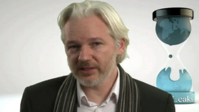 Assange, NY forum talk Orwellian future, internet as 'suppression' tool