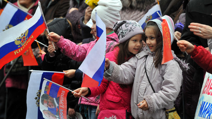 Crimea hopeful of referendum, ready to join Russia 'by end March'