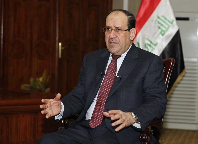 Iraq's Prime Minister Nuri al-Maliki (Reuters / Thaier Al-Sudani)