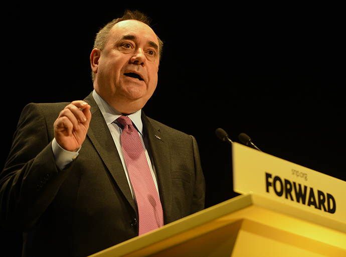 Scotland's First Minister and Scottish National Party (SNP) leader Alex Salmond (Reuters / Russell Cheyne)