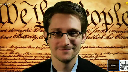 Snowden publically supports Reset the Net campaign