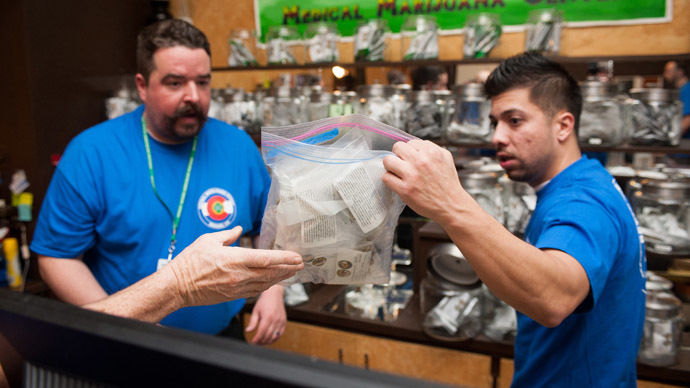 ​Colorado collected over $2 million in marijuana taxes in single month