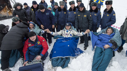 Soyuz docks at ISS after two-day flight