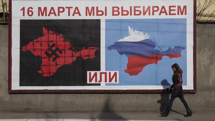 Crimea parliament declares independence from Ukraine ahead of referendum