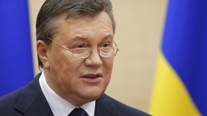 US has 'no right to fund gangsters': Yanukovich to challenge $1bn Ukraine aid in courts