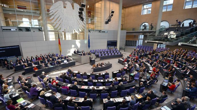Germans may sweep parliament for bugs, tapped phones