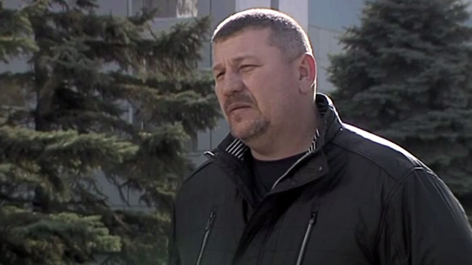 Igor Knyazev, father of Maksim Knyazev (Screenshot from RT Video).