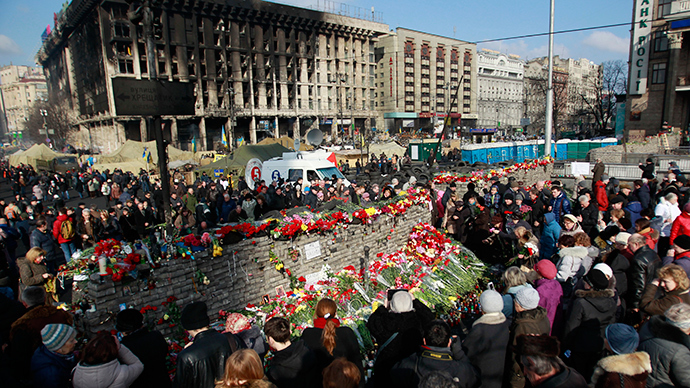Moscow wants EU probe into Maidan gun crimes & Ukraine's post-coup govt